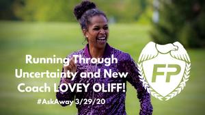 Lovey Roundtree Oliff Coach Fitness Protection Program Podcast Running Purple tutu