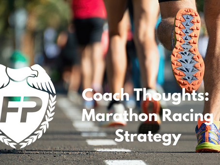 General Marathon Racing Guidelines