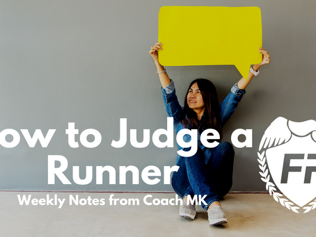 How to Judge a Runner