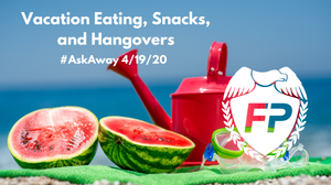 watermelon on the beach vacation eating fitness protection podcast mary-katherine fleming coach mk dalia kinsey