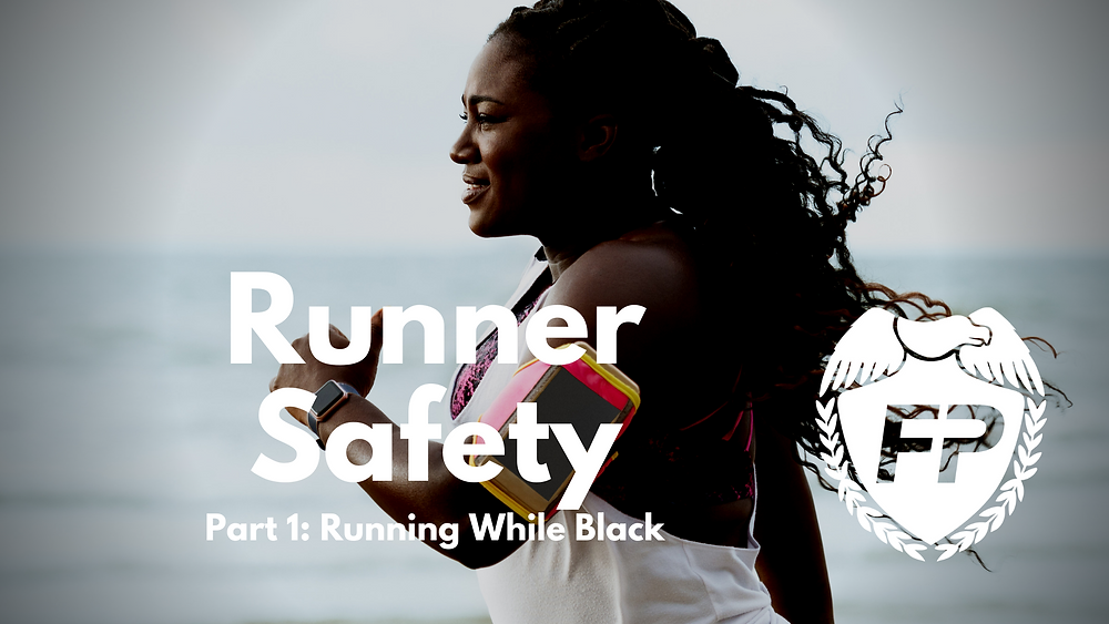Black Woman Running on the Beach Podcast Runner Safety Running While Black