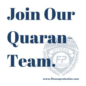 Quaranteam Fitness Protection Program