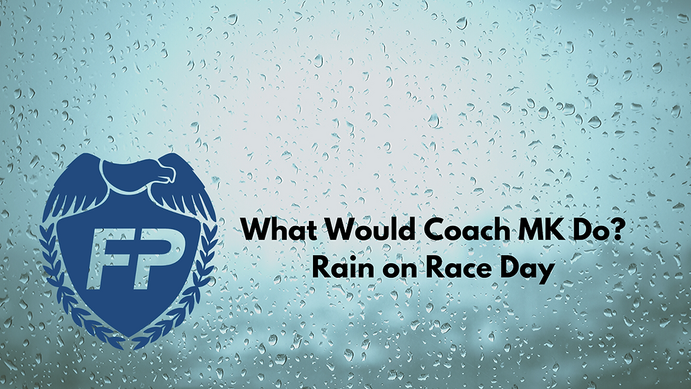 Rainy Day Race Strategy Rain Strategy Marathon