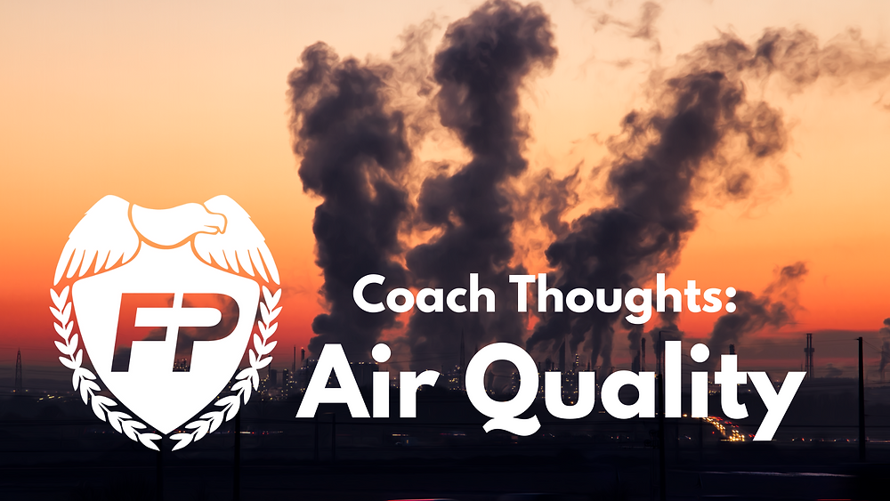 Runners need to care about Air Quality