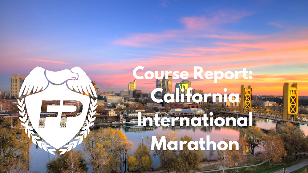CIM Course Description and Race Strategy
