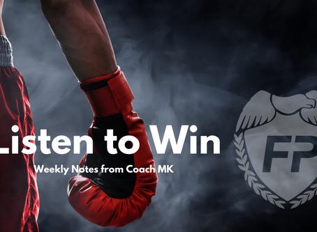 Listen to Win