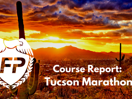 Tucson Marathon Course Report