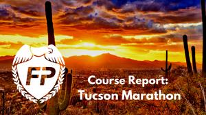 The Downhill Tucson Marathon Course is Brutal.