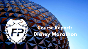 Race Strategy and Course Report for Disney Marathon