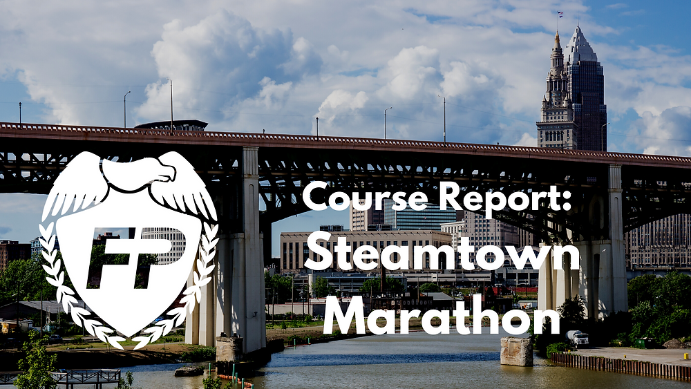 Steamtown Marathon Race Course