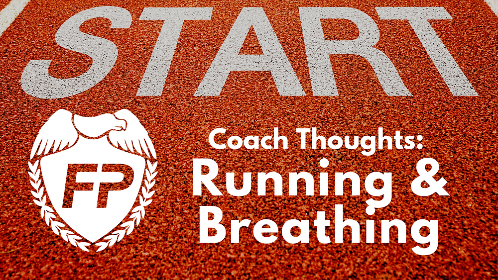 running and breathing and military cadences