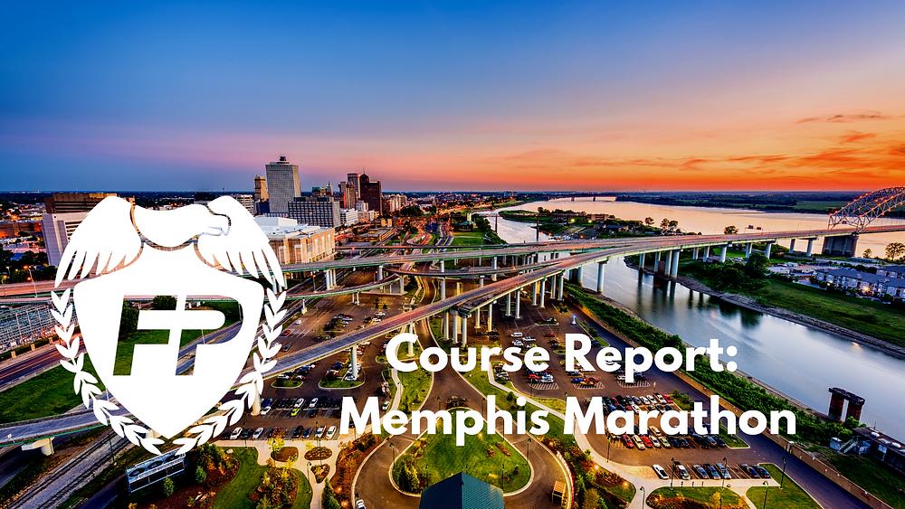 Memphis Marathon Course Report