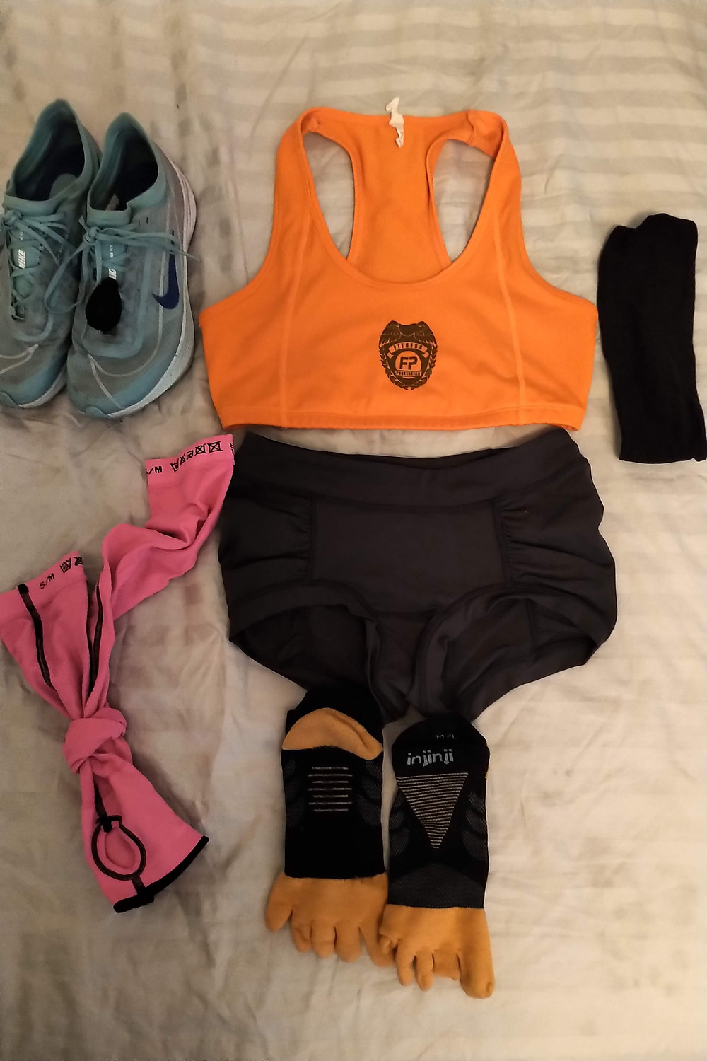 Fitness Protection Program Coach MK NYC Marathon Racing Kit