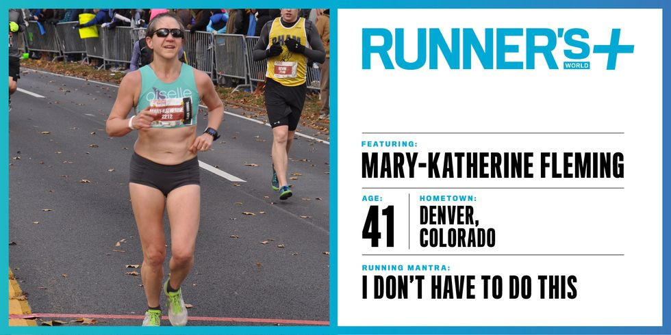Mary-Katherine Fleming Coach MK Runner's World Magazine