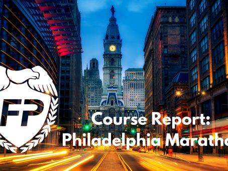 Philadelphia Marathon Course Report