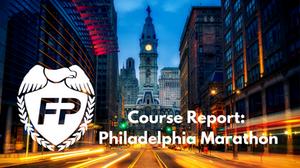Philadelphia Marathon Course and Strategy