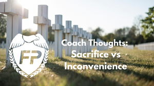 sacrifice vs inconvenience marathon training hard choices