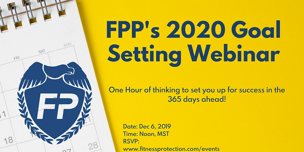 2020 Planning & Goal-Setting