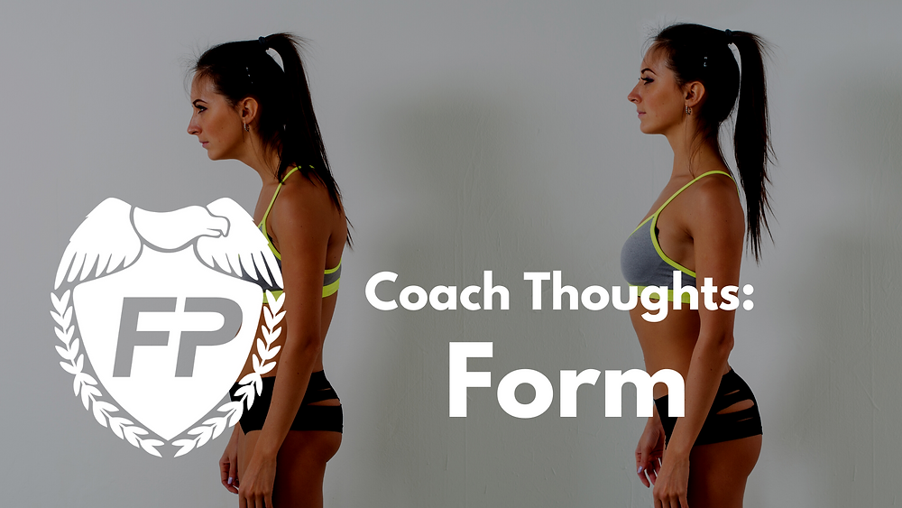 running form is a function of strength
