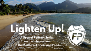 Lighten UP! Running Life Podcast Coach MK Fleming Fitness Protection