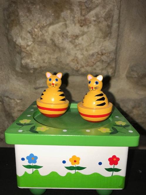 Boîte à musique chats