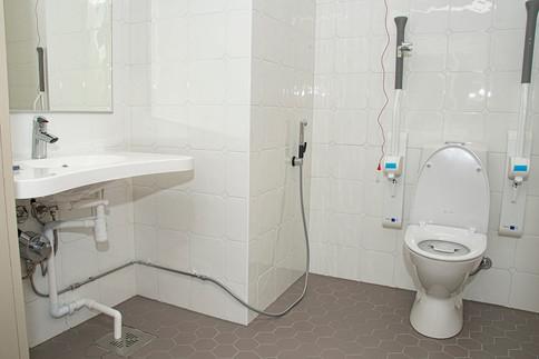 Inva-WC kytkennät Iso Pappila