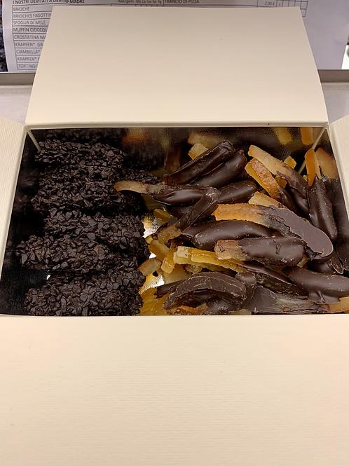 Scorzette Candite Cioccolato