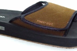Mens Daco Foot-EEZ Brown
