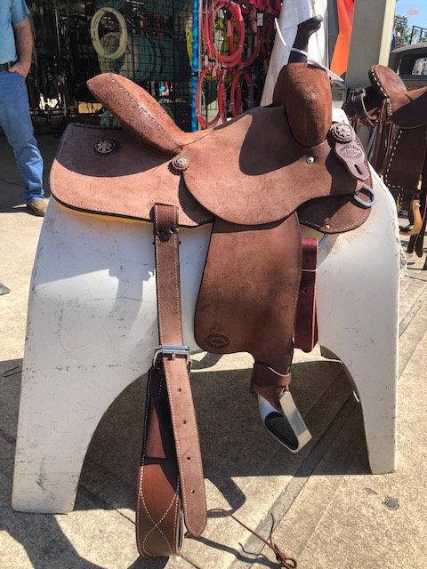 "14.5"" HR Saddle"