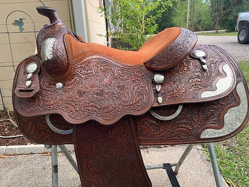 """15"""" Del Varney Show Saddle"""