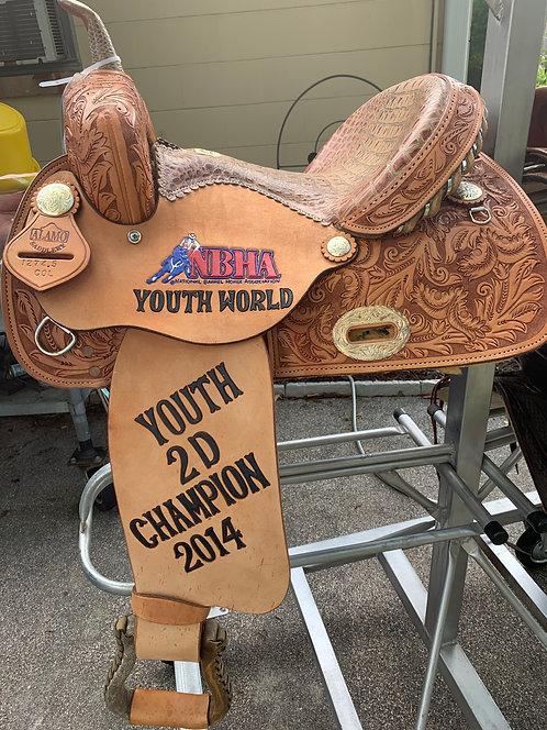 "13-1/2"" Alamo Barrel Saddle"