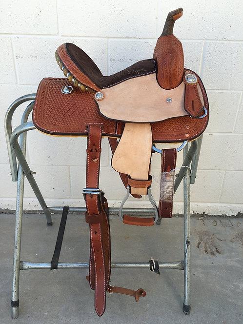 "12"" Corriente Barrel Saddle"