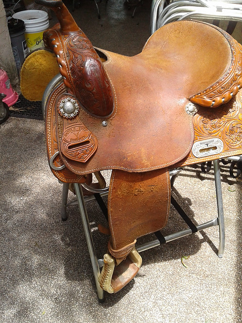 "14.5"" Twister Saddlery"