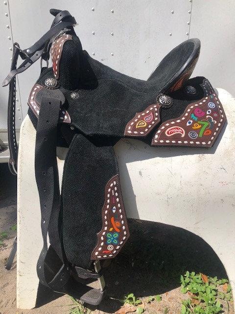 "14.5"" Seven Saddle"