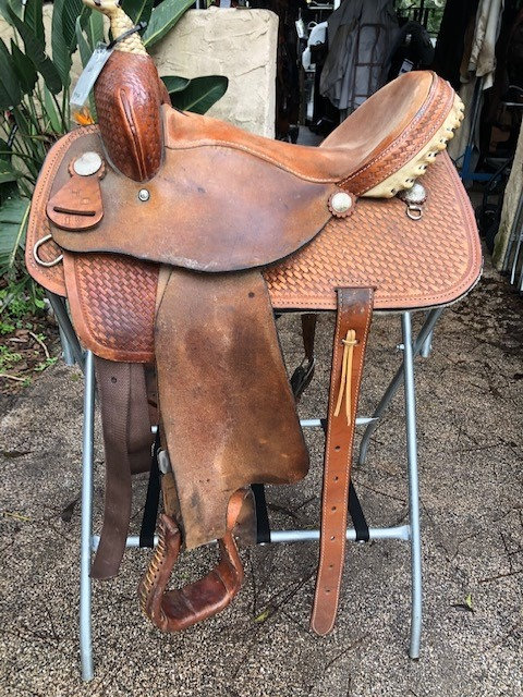 "15"" HD Barrel Saddle"