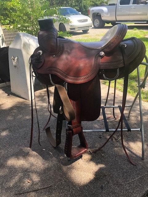 """17"""" Rockin R Ranch Saddle"""