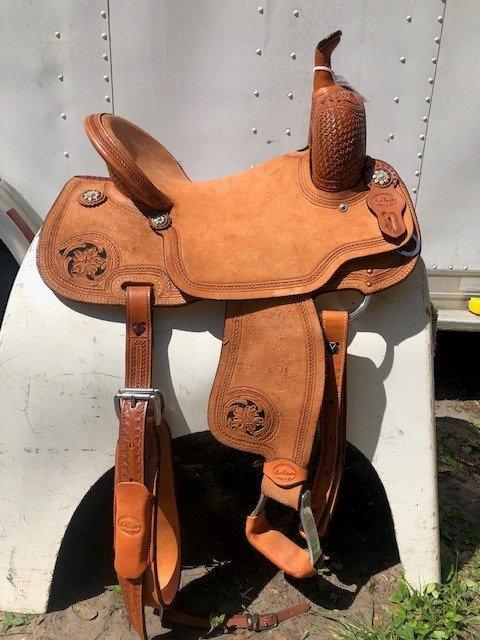 """14.5"""" HR Signature Saddle"""