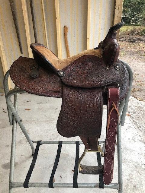 "12"" Bear Valley Saddle"