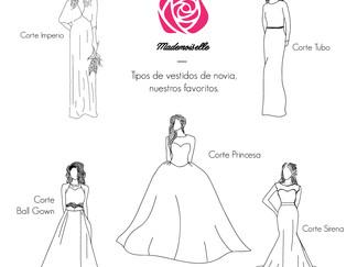 Tipo de vestidos para novia!