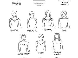 Tipo de cuellos y escotes
