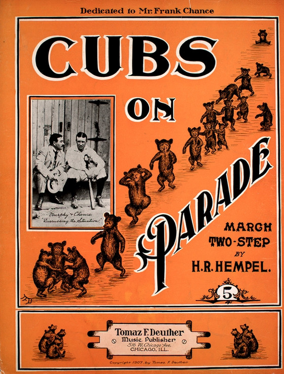 """Cubs On Parade"" 2015 Performance Program Note"