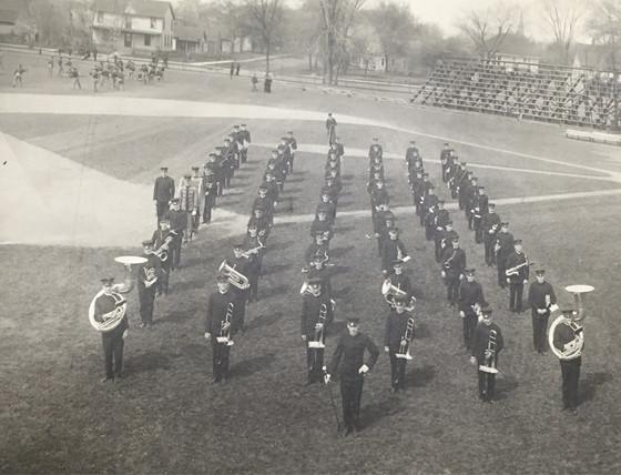 Bands and Baseball at the University of Illinois, Circa 1900