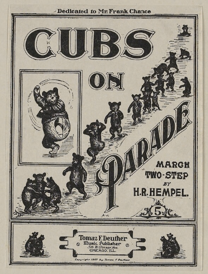 """Cubs on Parade March and Two-Step"""