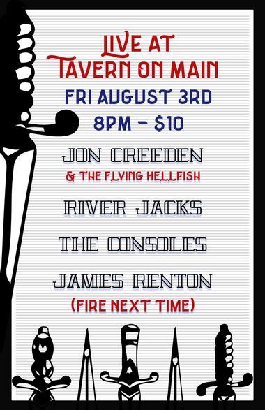 Gig Poster - Fire Next Time Poster