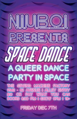 NIUBOI Space Dance Poster