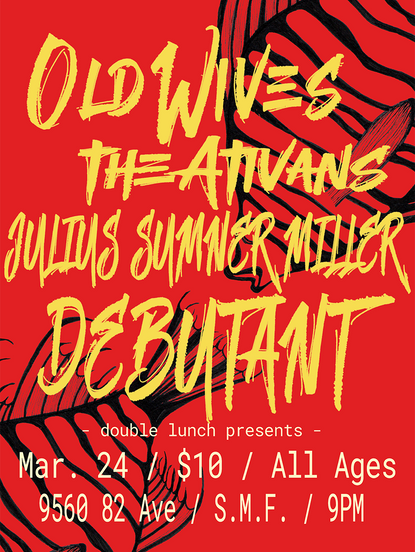 Gig Poster - Old Wives