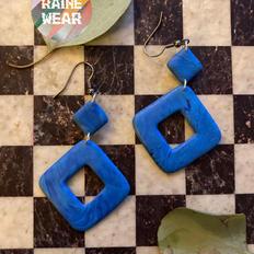 Triple Diamonds in Blue