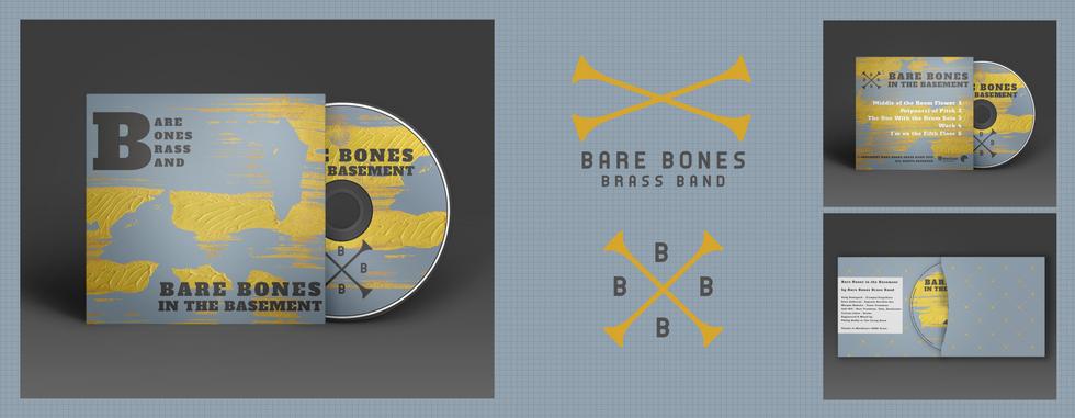 Bare Bones Brass Band Logos & Album Art