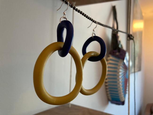 Blue & Yellow Huge Loops