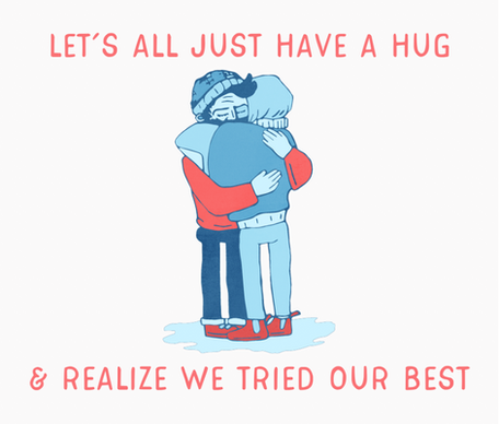 Let's All Just Have a Hug
